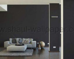 טפטים לחדר שינה, טפט לקיר פסים דקים בצבע שחור
