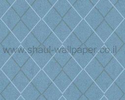 טפטים לחדר שינה, טפט לקיר בצורות מעוניינים כוון תכלת כחול