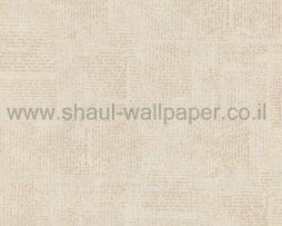 טפטים לחדר שינה, טפט לקיר בצורת פסיפס ווש גוון קרם