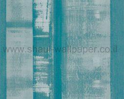 טפטים לחדר שינה, טפט לקיר סגנון ווש צבעוני טורקיז כסוף