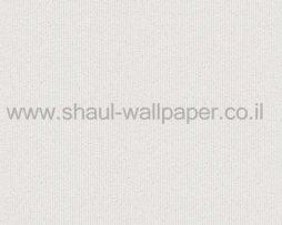 טפטים לחדר שינה, טפט לקיר פסים נוצצים מחוספסים לבן וכסף