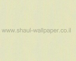 טפטים לחדר שינה, טפט לקיר פסים נוצצים מחוספסים ירוק לבן