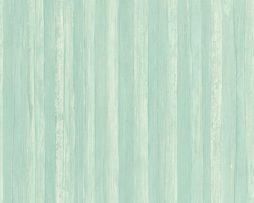 טפטים לחדר שינה, טפט לקיר טפט דמוי עץ וקמטים ירוק בהיר