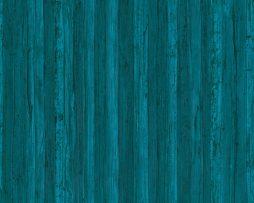טפטים לחדר שינה, טפט לקיר טפט דמוי עץ וקמטים כחול