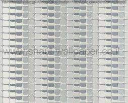 טפטים לסלון, למטבח ולחדרי שינה טפט תלת מיימד ריבועים בצבע אפור