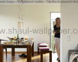 טפטים לסלון, למטבח ולחדרי שינה טפט טקסטורה מחוספס בצבע לבן