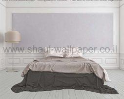 טפטים לסלון חדרי שינה ולחלל הבית טפט פרחים גדולים סגול בהיר ונצנצים