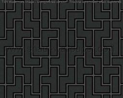 טפטים לסלון חדרי שינה ולחלל הבית טפט בסגנון מבוך בגווני שחור