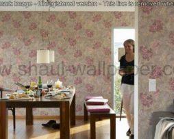 טפטים לסלון, טפטים לפינת אוכל, טפטים לקיר, טפט ורדים צבעוניים