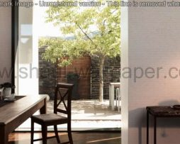 טפטים לסלון ,פינות אוכל וחלל הבית טפט כתוביות,רקע שמנת כתוביות בחום