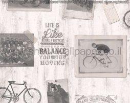 טפטים לסלון ,פינות אוכל וחלל הבית טפט כתוביות,תמונות ואיורים שחור לבן