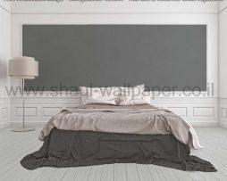 טפטים לסלון, טפטים לחדרי שינה ופניות אוכל, טפט עם קמטים צבע אפור