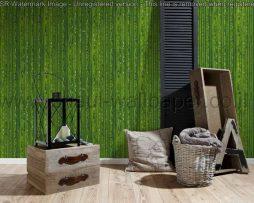 טפטים למטבח,פינות אוכל,פינות ישיבה וחלל הבית טפט דמוי במבוק בצבע ירוק