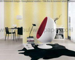 טפטים לחדר שינה, טפטים לסלון, טפט חלקי פסיפס קטנים צבע חרדל לבן
