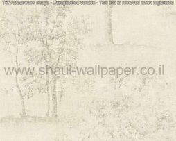טפטים לסלון,חדרי שינה,פינות אוכל וחלל הבית טפט רקע שמנת עצים באפור