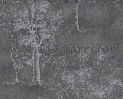 טפטים לסלון,חדרי שינה,וחלל הבית טפט רקע שחור עצים באפור בהיר