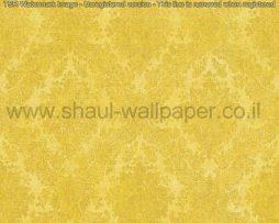 טפטים לסלון ,חדרי שינה וחלל הבית טפט מדליונים בגוונים של צהוב