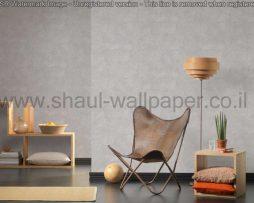 טפטים לסלון,חדרי שינה,פינות אוכל וחלל הבית טפט דמוי לוחות אבן בצבע אפור