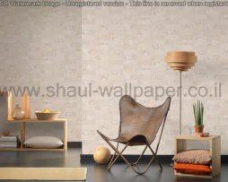 טפטים לסלון,פינות אוכל,חדר שינה,וחלל הבית טפט דמוי בטון לבן מבריק ומט